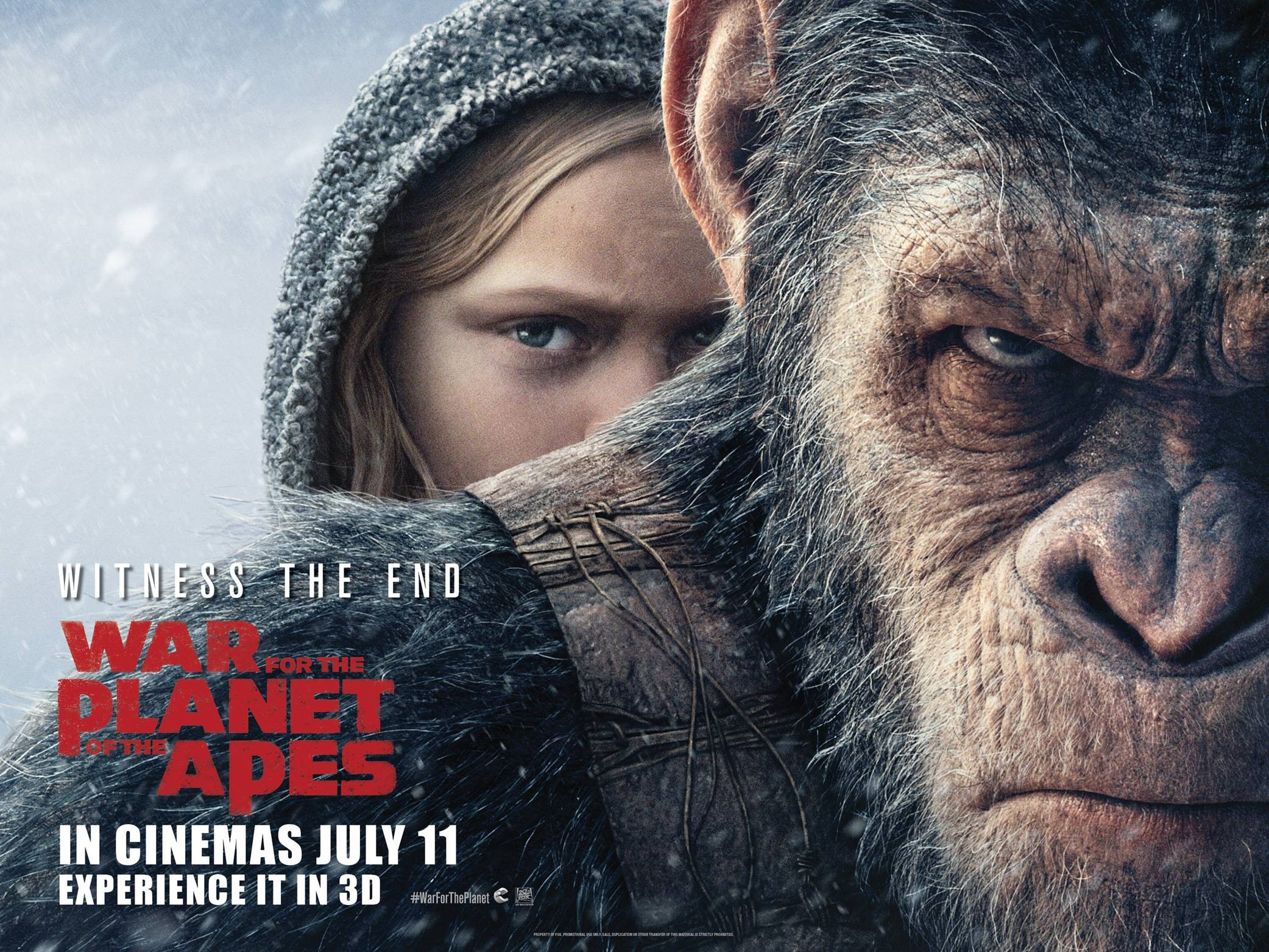 Meet 'Bad Ape' from War For The Planet Of The Apes | Movies For Kids