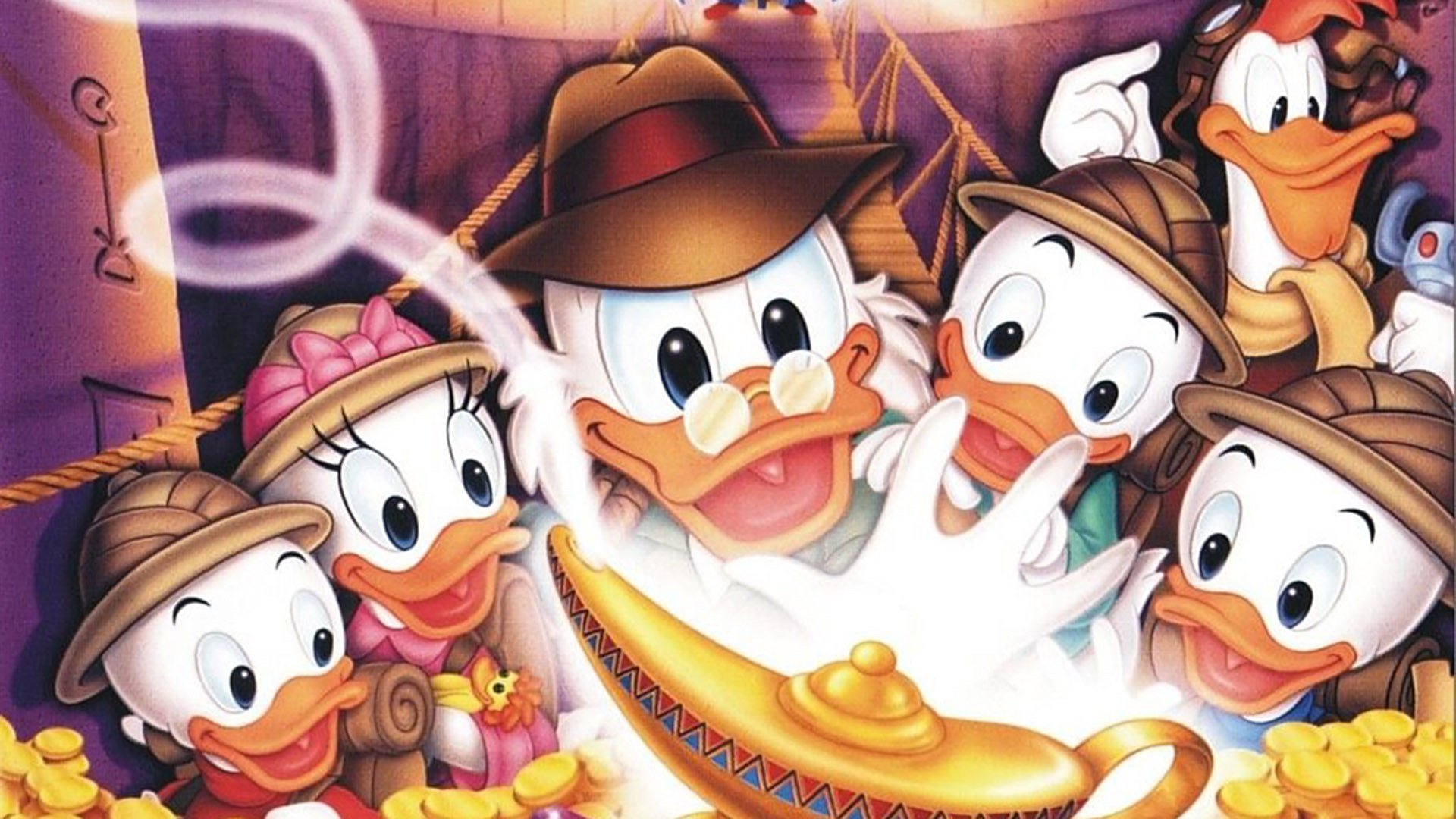 We Review Ducktales: The Movie   Treasure Of The Lost Lamp   An Indiana  Jones Meets Aladdin Adventure From Disney