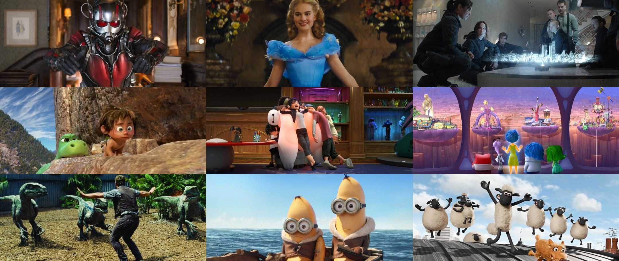 Top 10 Children's Movies 2015