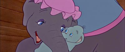 Dumbo with his mother
