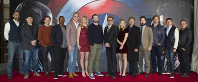 "London UK : Film makers and cast attend the European Photo Call Of Marvel's ""Captain America: Civil War"" in London on April, 2016. (Credit : James Gillham / StingMedia for Disney)"