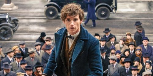 Eddie Redmayne in Fantastic Beasts...