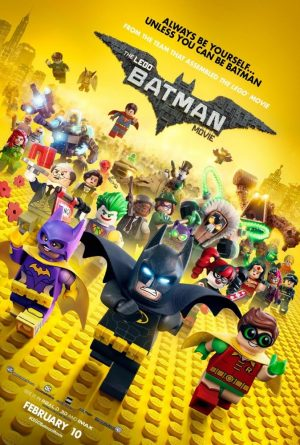 The Lego Batman poster