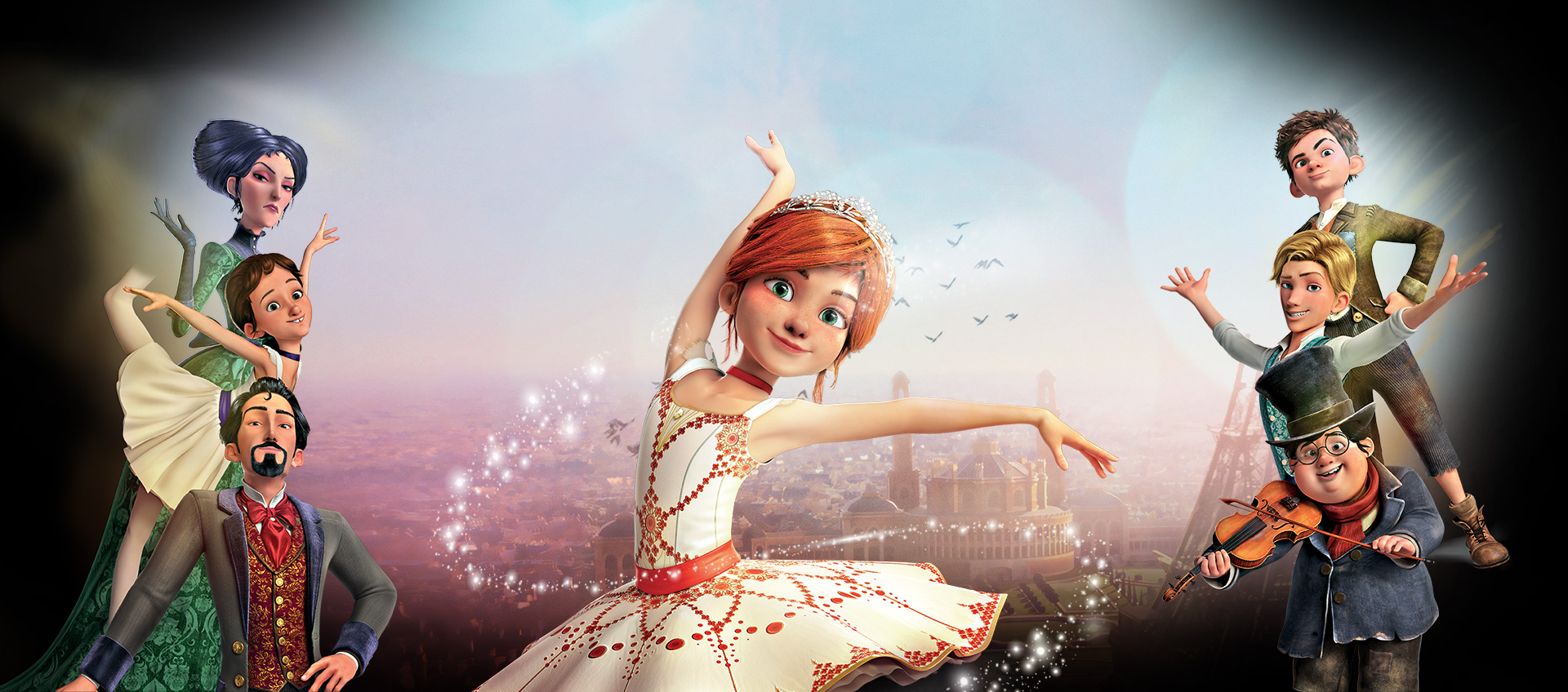 Ballerina activity sheet and DVD release! | Movies For Kids